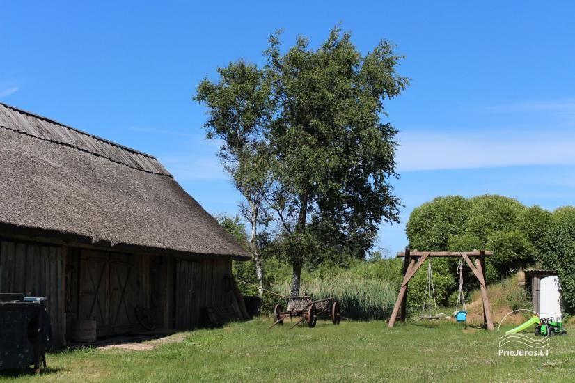 Viesu māja krastā ezera, netālu no jūras - Lejnieki - 10