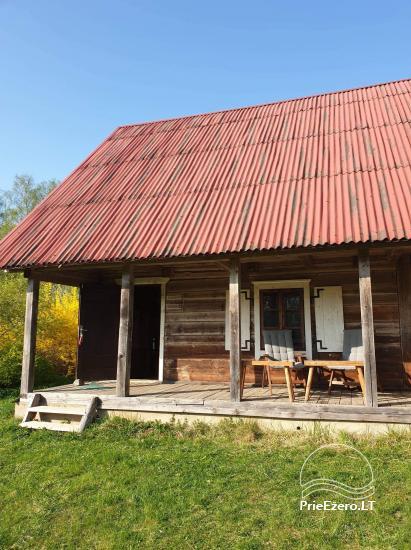 Ģimenes māja 40 km no galvaspilsētas Viļņas, netālu no ezera - 10