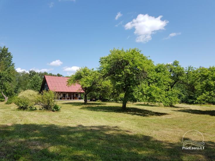 Ģimenes māja 40 km no galvaspilsētas Viļņas, netālu no ezera - 2