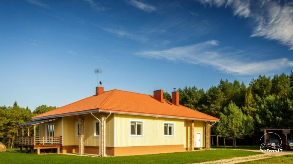 Lauku sēta Bugeniai netālu no Ukmerges, Lietuvā - 1