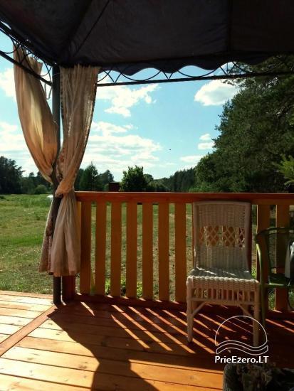 Relaksācija reālā laukos - lauku mājas Priežu mežs - 1