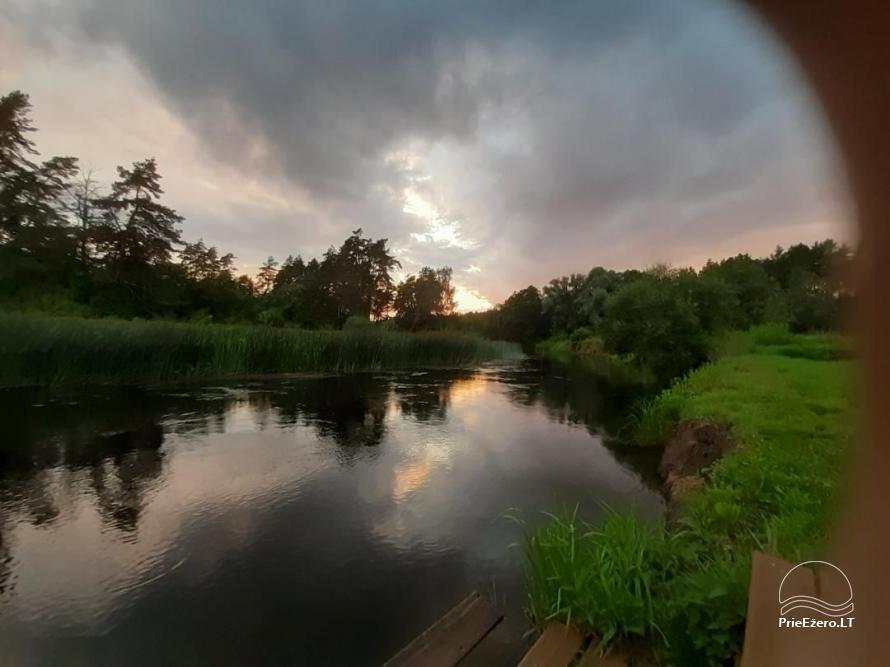 Relaksācija reālā laukos - lauku mājas Priežu mežs - 11