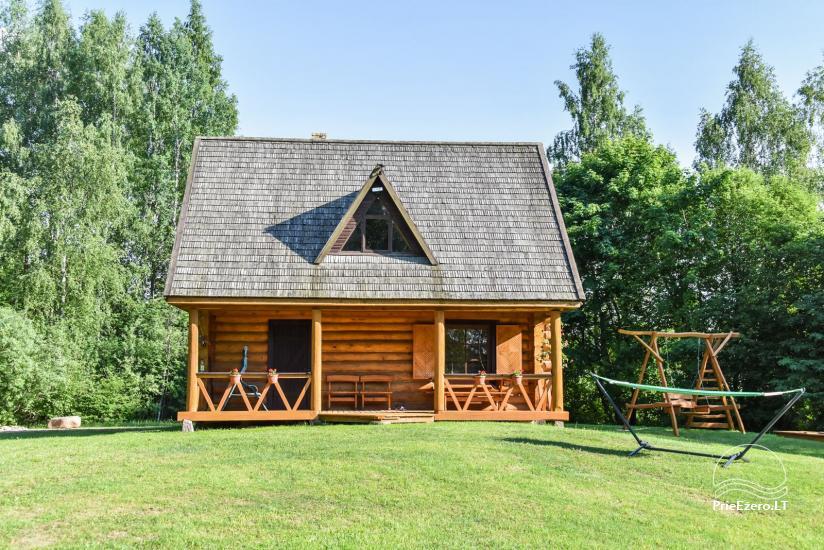 Guļbūve - villa un sauna pie Auslo ezera Zarasu rajonā - sēta AUSLA - 5