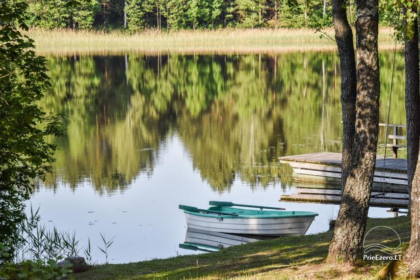 Guļbūve - villa un sauna pie Auslo ezera Zarasu rajonā - sēta AUSLA - 15