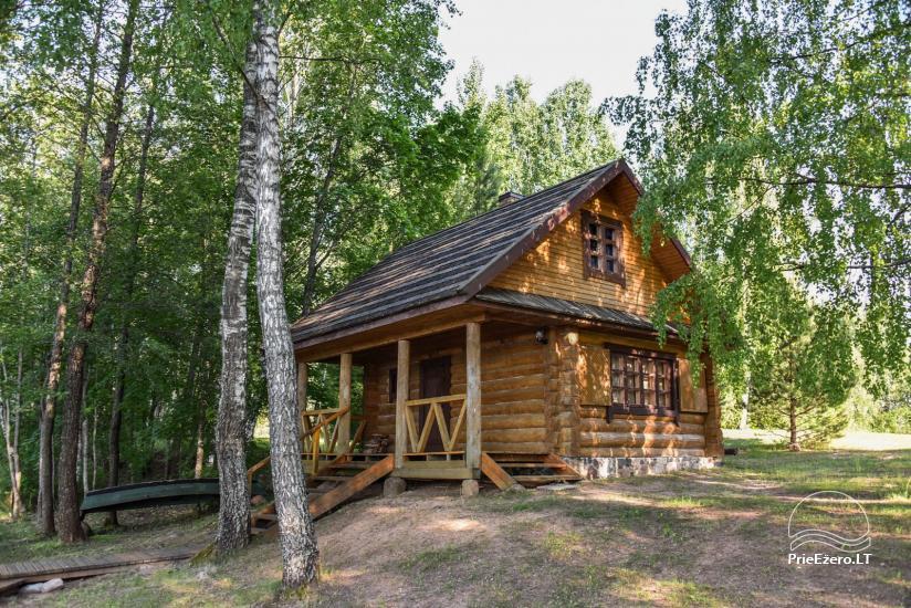 Guļbūve - villa un sauna pie Auslo ezera Zarasu rajonā - sēta AUSLA - 44