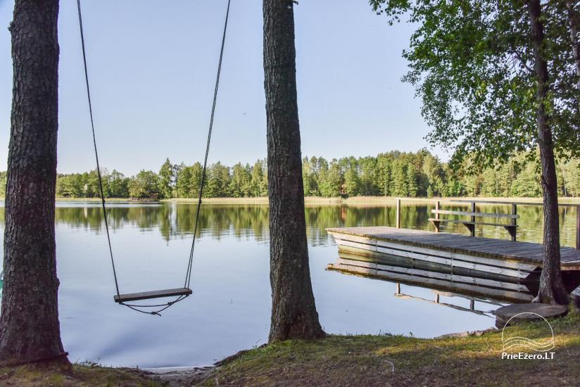 Guļbūve - villa un sauna pie Auslo ezera Zarasu rajonā - sēta AUSLA - 20