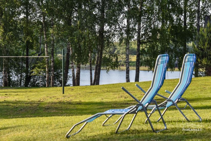Guļbūve - villa un sauna pie Auslo ezera Zarasu rajonā - sēta AUSLA - 11