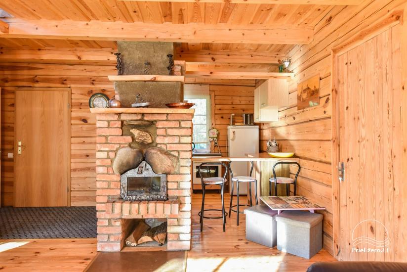Guļbūve - villa un sauna pie Auslo ezera Zarasu rajonā - sēta AUSLA - 27