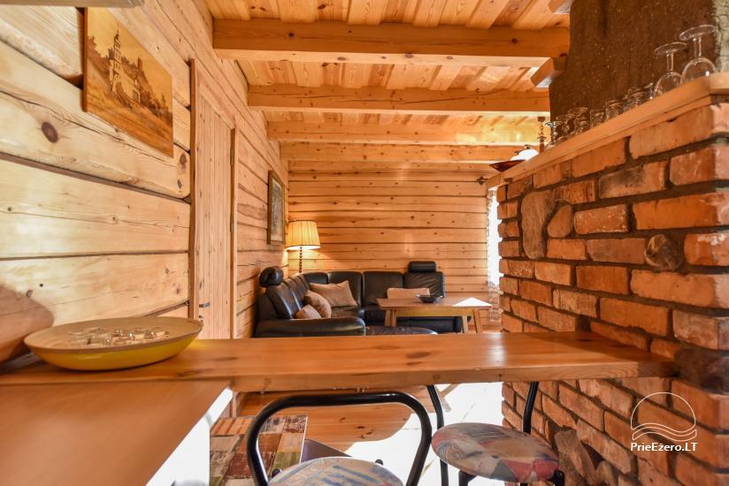 Guļbūve - villa un sauna pie Auslo ezera Zarasu rajonā - sēta AUSLA - 29