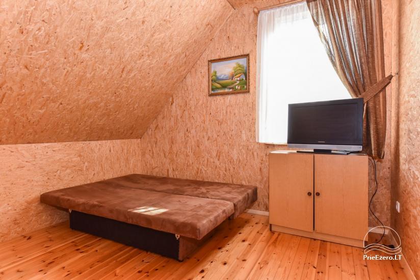 Guļbūve - villa un sauna pie Auslo ezera Zarasu rajonā - sēta AUSLA - 32