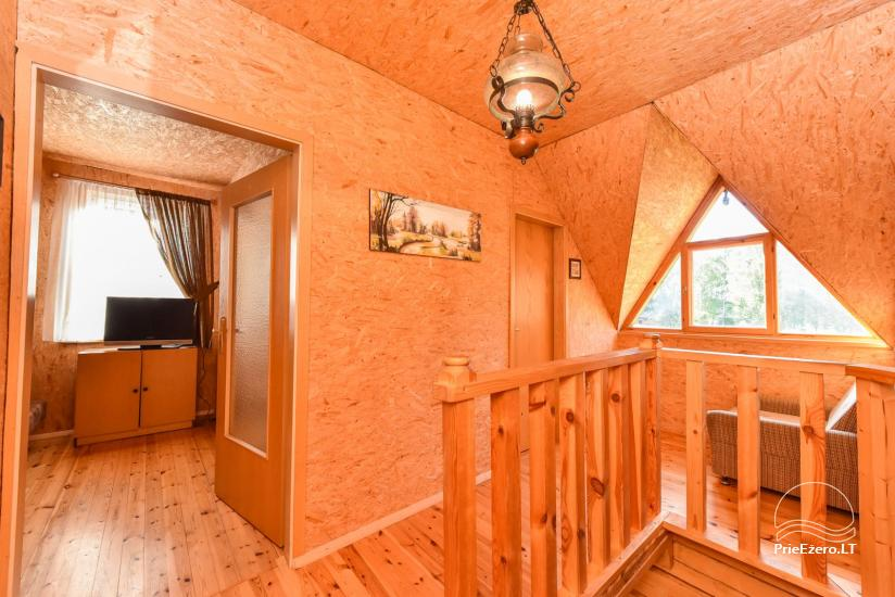 Guļbūve - villa un sauna pie Auslo ezera Zarasu rajonā - sēta AUSLA - 30