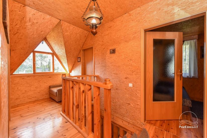 Guļbūve - villa un sauna pie Auslo ezera Zarasu rajonā - sēta AUSLA - 31