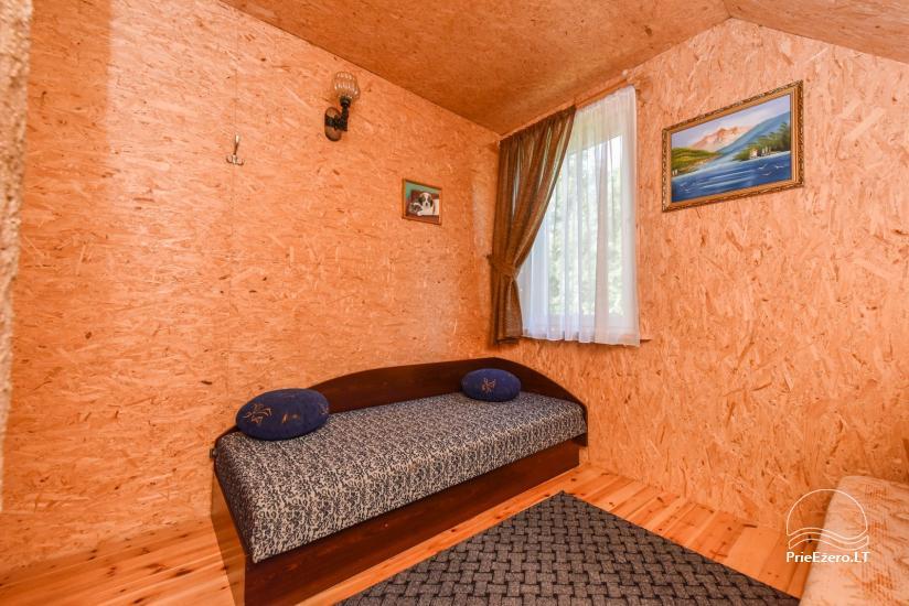 Guļbūve - villa un sauna pie Auslo ezera Zarasu rajonā - sēta AUSLA - 37