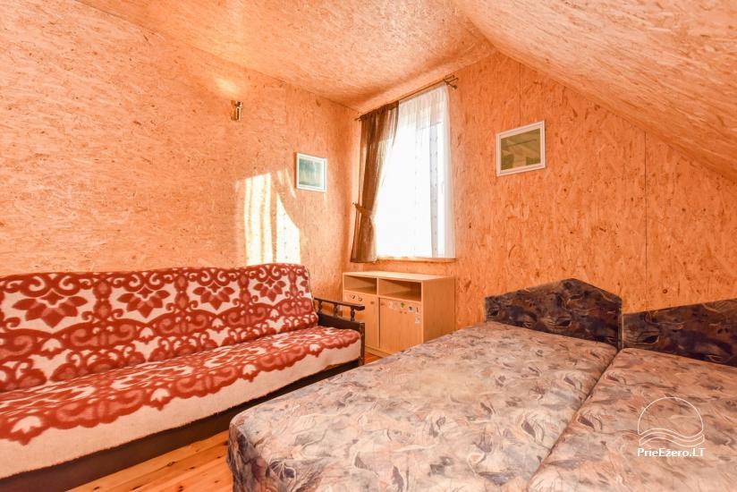 Guļbūve - villa un sauna pie Auslo ezera Zarasu rajonā - sēta AUSLA - 35