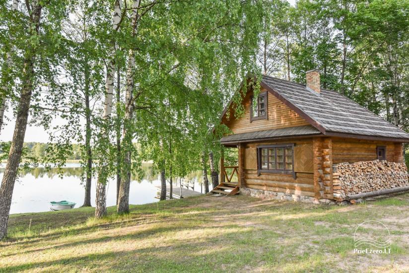 Guļbūve - villa un sauna pie Auslo ezera Zarasu rajonā - sēta AUSLA - 43