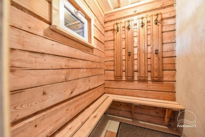 Guļbūve - villa un sauna pie Auslo ezera Zarasu rajonā - sēta AUSLA - 49
