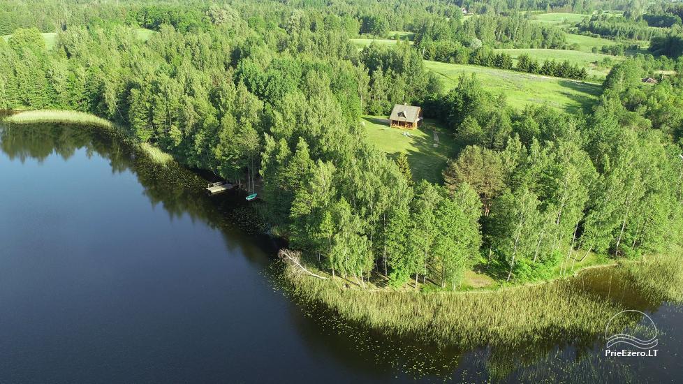 Guļbūve - villa un sauna pie Auslo ezera Zarasu rajonā - sēta AUSLA - 54
