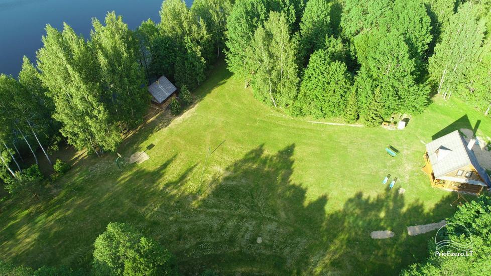 Guļbūve - villa un sauna pie Auslo ezera Zarasu rajonā - sēta AUSLA - 3