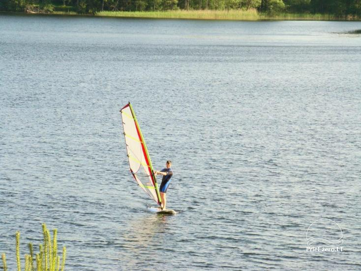 Lauku sēta Mazā ezera viļņa Lietuvā - 10