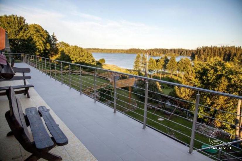 Villa Zelta vinča pie ezera Lietuvā - 3