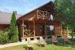 Lauku sēta pie Luknas ezera Lietuvā
