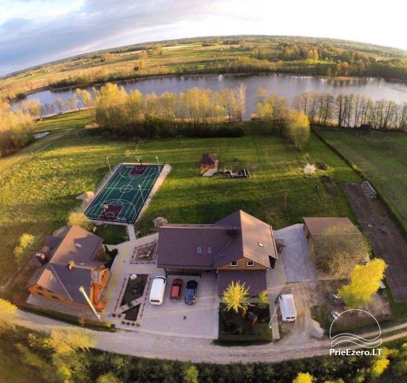 Lauku sēta pie Luknas ezera Lietuvā - 2