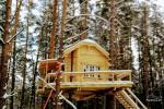 Koka māja ezera krastā Lietuvā - 4