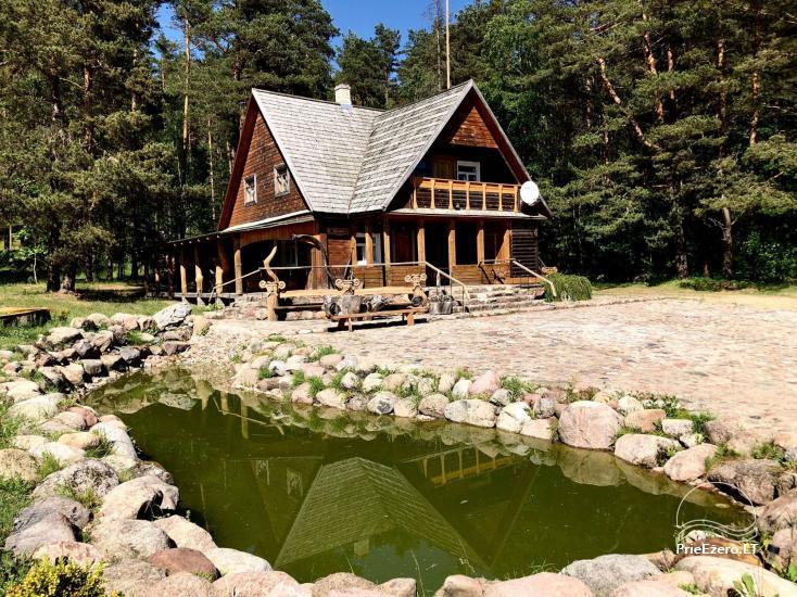 Lauku sēta Atpūta priežu mežā pie ezera - 1
