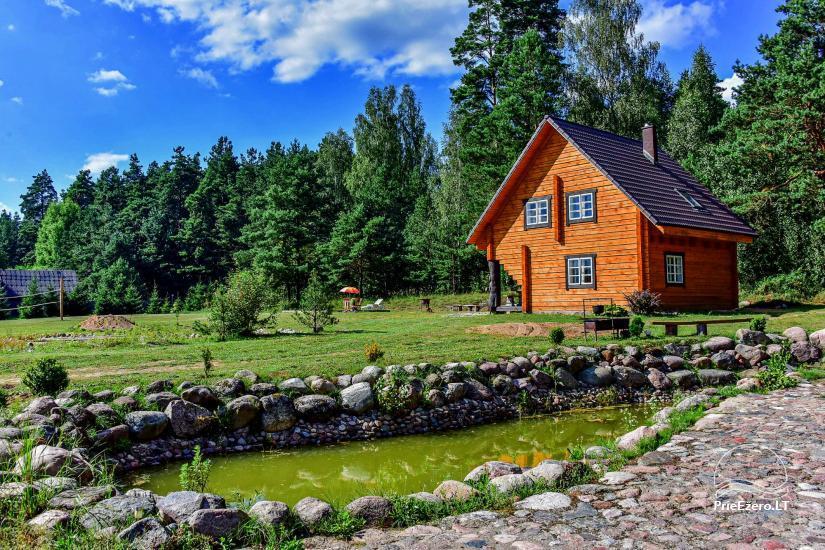 Lauku sēta Atpūta priežu mežā pie ezera - 22