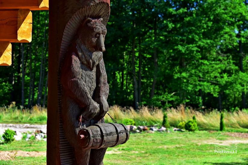 Lauku sēta Atpūta priežu mežā pie ezera - 26