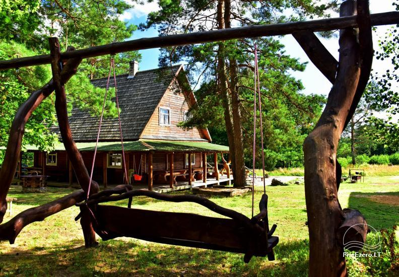 Lauku sēta Atpūta priežu mežā pie ezera - 3