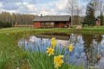 Neliela brīvdienu māja ar saunu netālu no ezera
