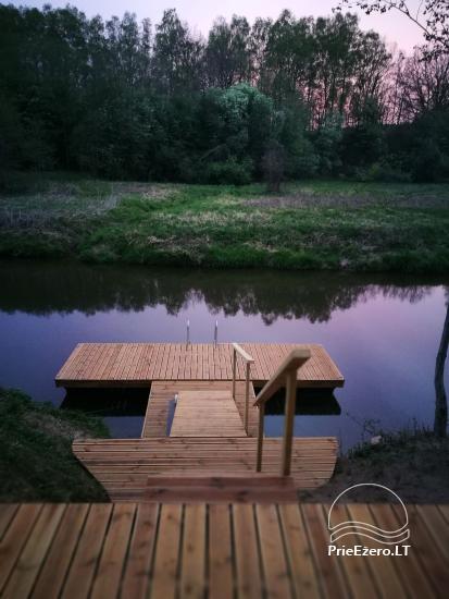 Lauku sēta pie upes Lietuvā - 3