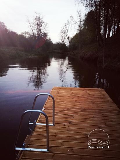 Lauku sēta pie upes Lietuvā - 4