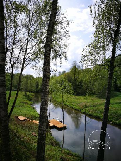 Lauku sēta pie upes Lietuvā - 5