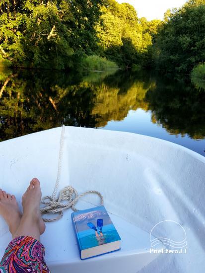 Lauku sēta pie upes Lietuvā - 9