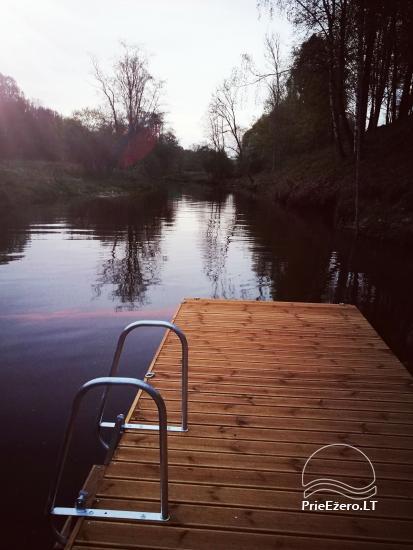 Lauku sēta pie upes Lietuvā - 17