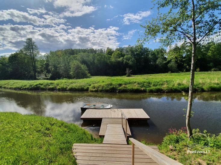 Lauku sēta pie upes Lietuvā - 21