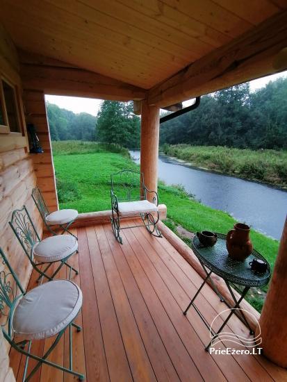Lauku sēta pie upes Lietuvā - 16