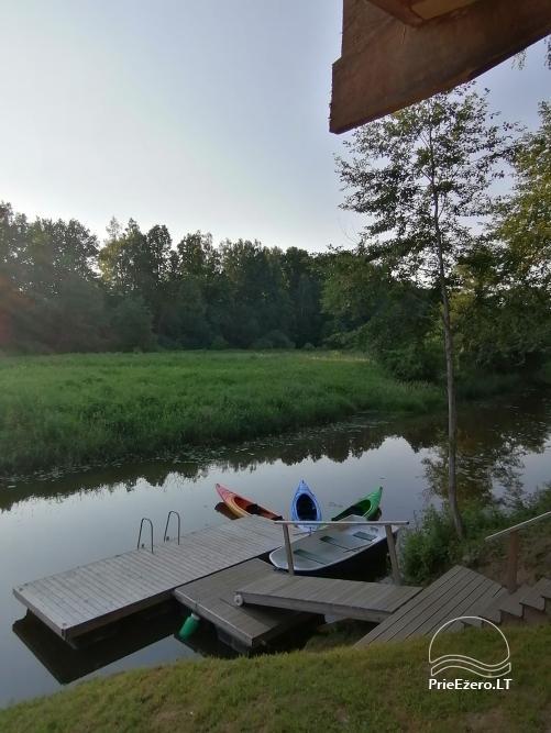 Lauku sēta pie upes Lietuvā - 30