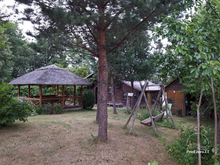Neliela brīvdienu māja Ignalinas rajonā, Lietuvā, netālu no ezera - 7