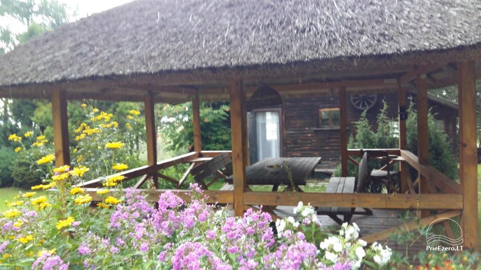 Neliela brīvdienu māja Ignalinas rajonā, Lietuvā, netālu no ezera - 8