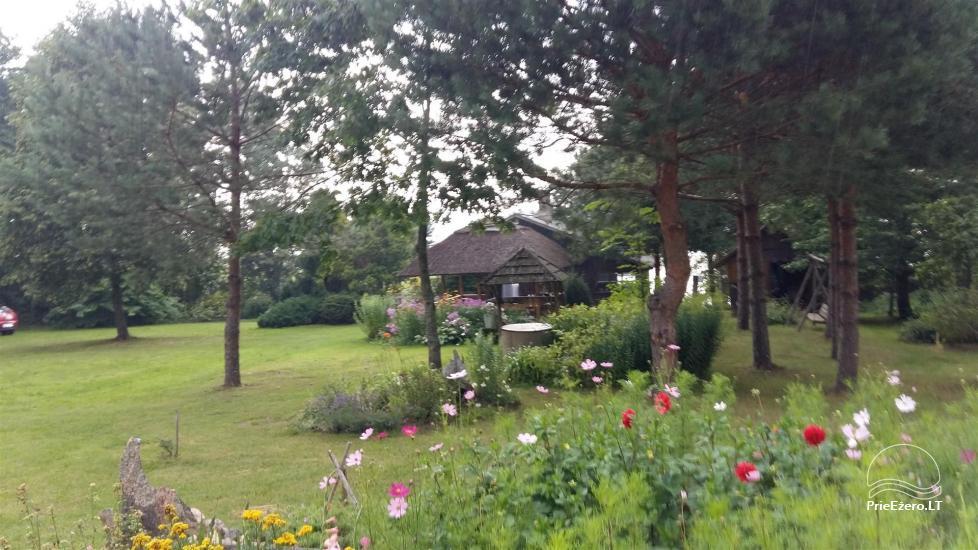 Neliela brīvdienu māja Ignalinas rajonā, Lietuvā, netālu no ezera - 9