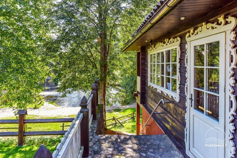 Viesu māja pie upes Ignalinas rajonā - 10