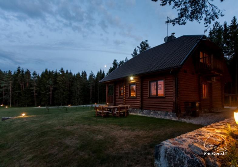 Lauku māja Plateliai ezerā Likterna - 11