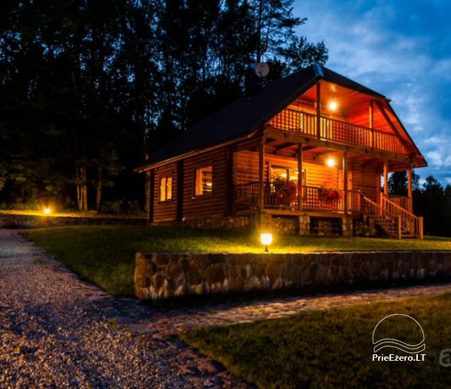 Lauku māja Plateliai ezerā Likterna - 13