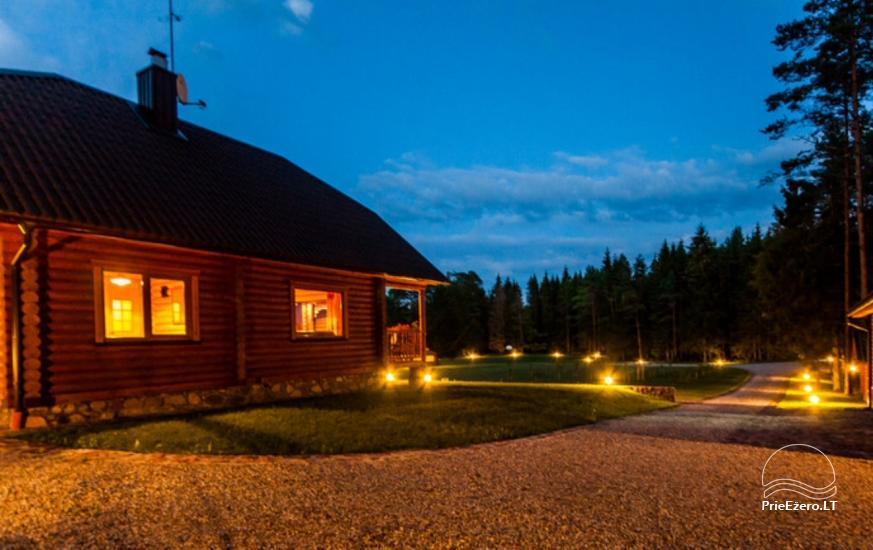 Lauku māja Plateliai ezerā Likterna - 14