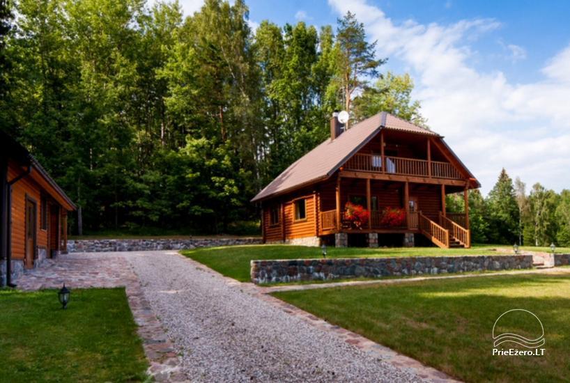Lauku māja Plateliai ezerā Likterna - 15