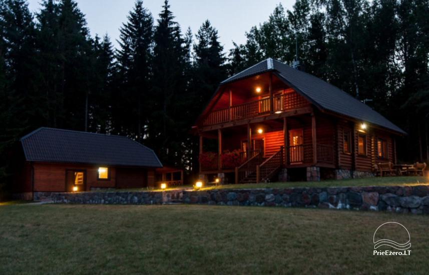 Lauku māja Plateliai ezerā Likterna - 16