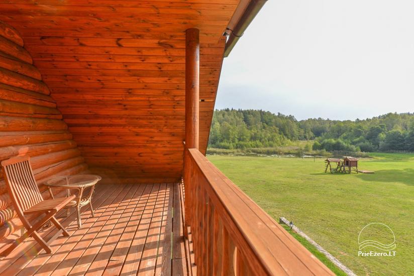 Lauku māja Plateliai ezerā Likterna - 43